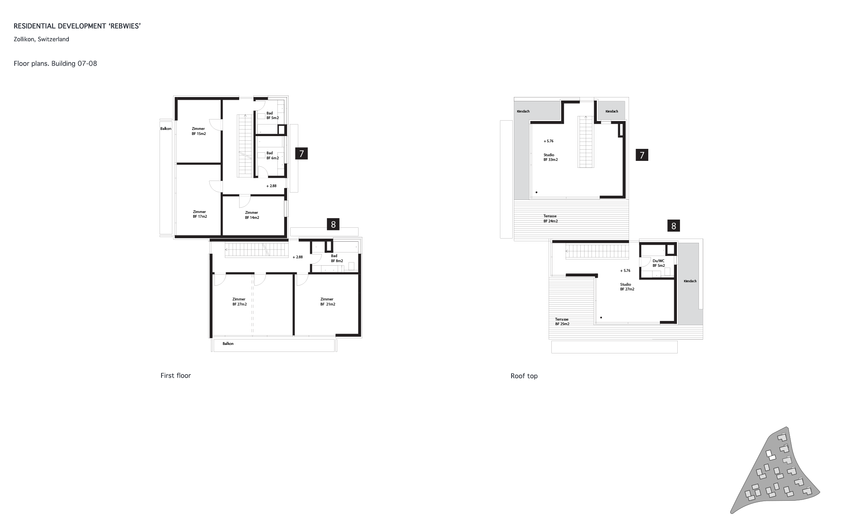 Project Plans / Rebwies,Zollikon / Home